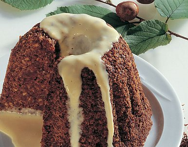 Pumpernickel-Pudding