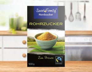 Fairtrade Rohrzucker