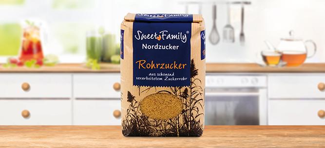 SweetFamily von Nordzucker: Rohrzucker 1000g