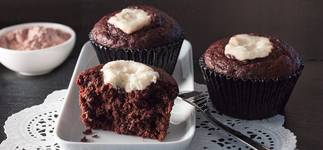 Black-and-White Muffins