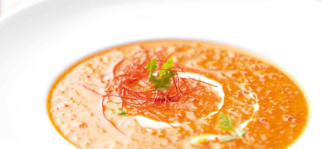 karamellisierte paprika chili suppe sweetfamily von nordzucker
