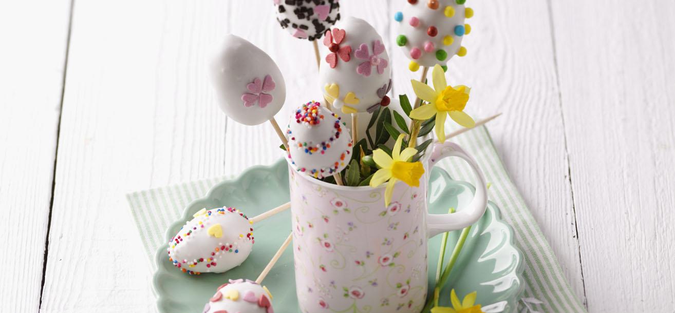 ostereier zitronen cake pops sweetfamily von nordzucker. Black Bedroom Furniture Sets. Home Design Ideas