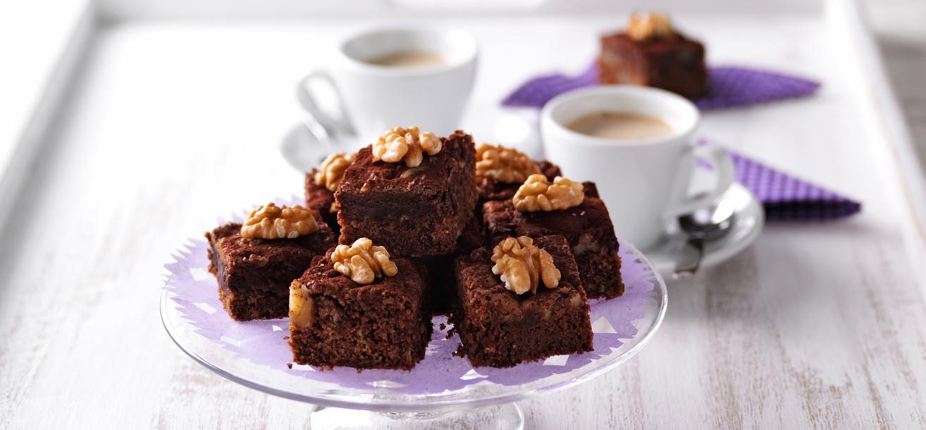schokoladen brownies sweetfamily von nordzucker. Black Bedroom Furniture Sets. Home Design Ideas